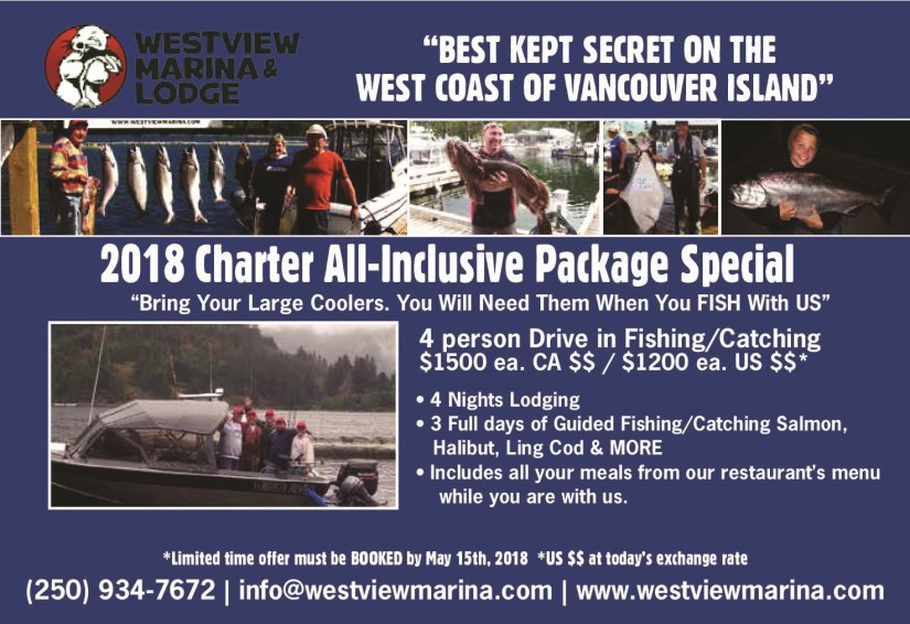 2018 All Inclusive Charter Special